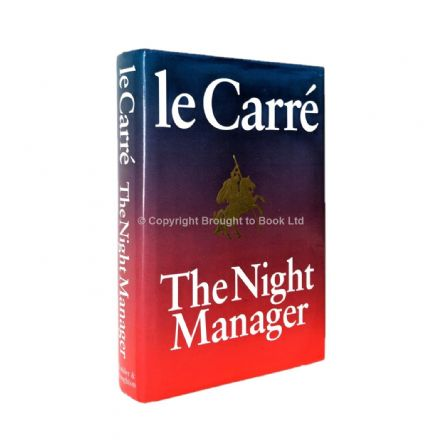 The Night Manager Signed John le Carré 1st Edition Hodder & Stoughton 1993